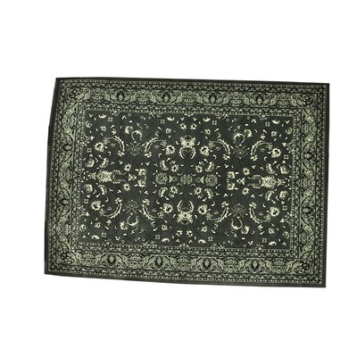 Zoelle Gray/Black Area Rug Rug Size: Runner 27 x 91