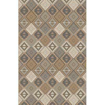 Forcalquier Ivory Area Rug Rug Size: Rectangle 53 x 72