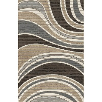 Mccormick Brown/Gray Area Rug Rug Size: Rectangle 53 x 72