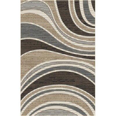 Mccormick Brown/Gray Area Rug Rug Size: Rectangle 711 x 910