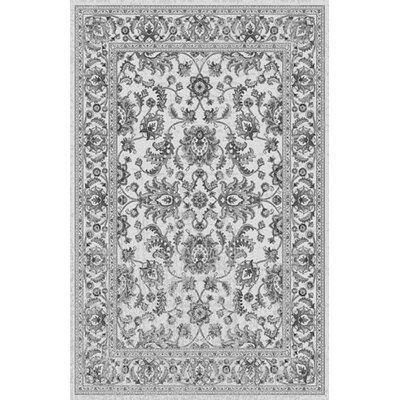 Saxon White Area Rug Rug Size: Rectangle 711 x 910