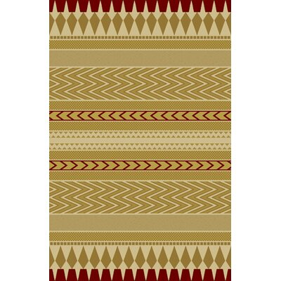 Brinley Brown Area Rug Rug Size: 53 x 72