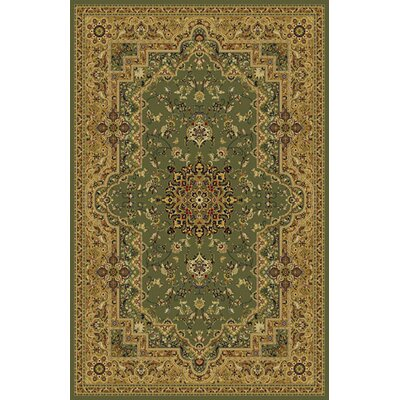Umberger Green Area Rug Rug Size: 711 x 910