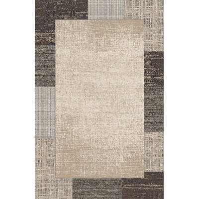 Burcu Ivory Area Rug Rug Size: Rectangle 53 x 72