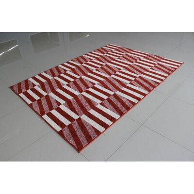 Mccollough Terracotta Area Rug Rug Size: 4 x 6