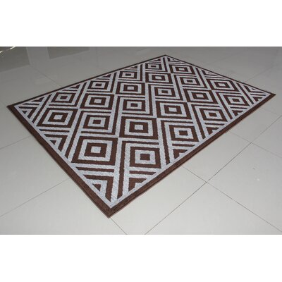 Rosamond Brown Area Rug Rug Size: 3 x 5