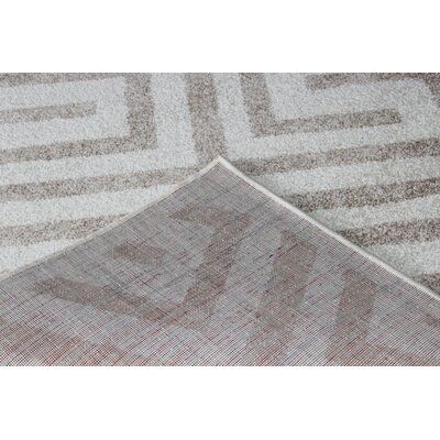 Rosenow Gray Area Rug Rug Size: 3 x 5