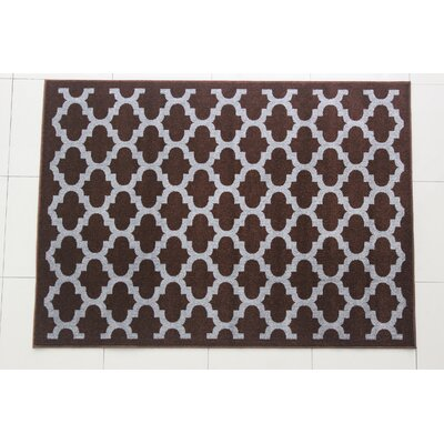 Maria Berber Brown Area Rug Rug Size: 53 x 72