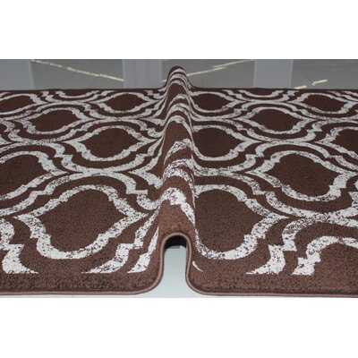 Rosinski Brown Area Rug Rug Size: 4 x 6