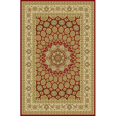 Gio Red Area Rug Rug Size: 10 x 13
