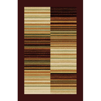 Denzil Beige/Brown Area Rug Rug Size: Runner 27 x 91