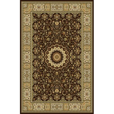 Ruffin Dark Brown Area Rug Rug Size: 711 x 910