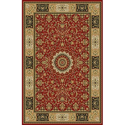 Bosquet Red Area Rug Rug Size: Runner 27 x 91
