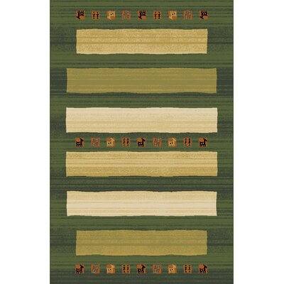 Gillam Green Area Rug Rug Size: Runner 27 x 91