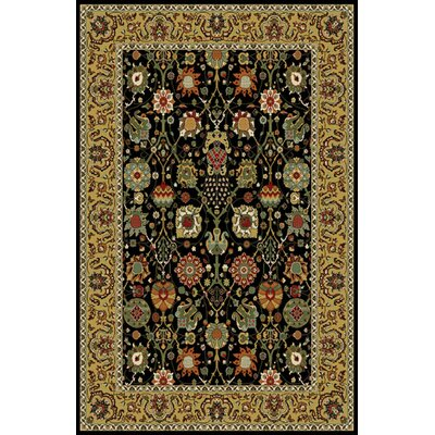 Woodrick Black Area Rug Rug Size: 10 x 13