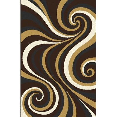 Mikkelsen Dark Brown Area Rug Rug Size: Runner 2 x 72