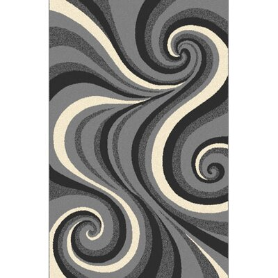 Milbourn Gray Area Rug Rug Size: Runner 2 x 72