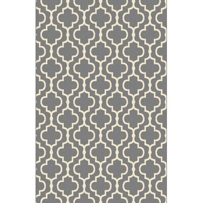 Marshfield Gray Area Rug Rug Size: 53 x 72