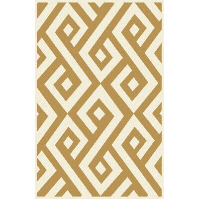 Risley Brown/Beige Area Rug Rug Size: Runner 2 x 72