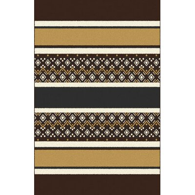 Pirro Beige/Brown Area Rug Rug Size: Runner 2 x 72