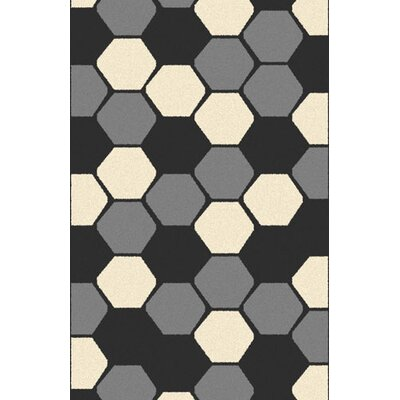 Parmele Silver Area Rug Rug Size: Rectangle 711 x 910