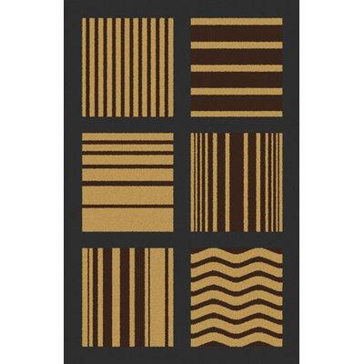 Bonetti Taupe Area Rug Rug Size: 53 x 72