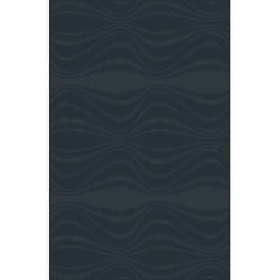 Mcgehee Modern Black Area Rug Rug Size: 711 x 910