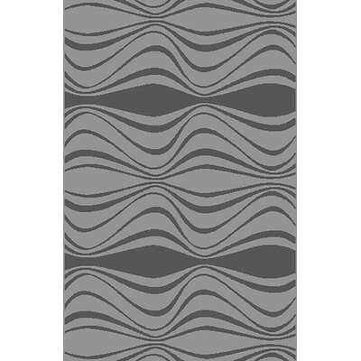 Mcginn Contemporary Gray Area Rug Rug Size: 711 x 910