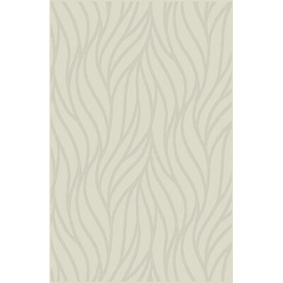 Chronister Ivory Area Rug Rug Size: 711 x 910