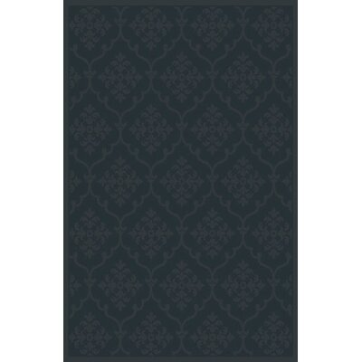 Starla Black Area Rug Rug Size: 53 x 72