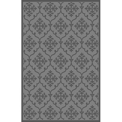 Suki Gray Area Rug Rug Size: 53 x 72