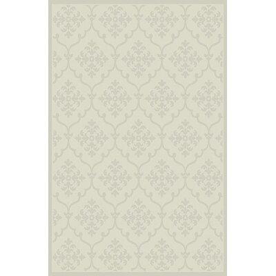 Suzette Ivory Area Rug Rug Size: 711 x 910