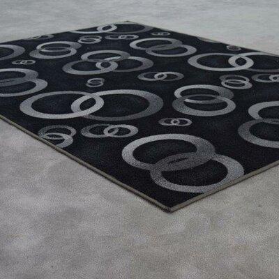 Mcgehee Black Area Rug Rug Size: 10 x 13