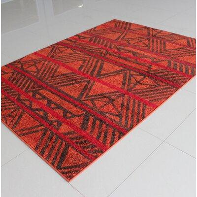 Bonner Terracotta Area Rug Rug Size: 3 x 5