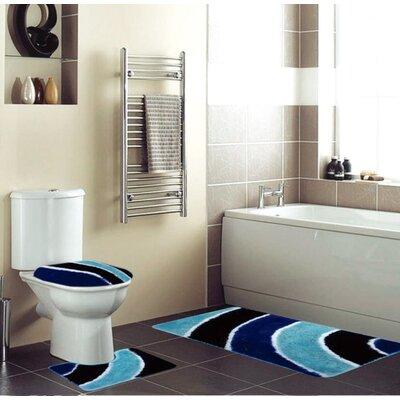 Eisenhauer 3 Piece Bath Rug Set