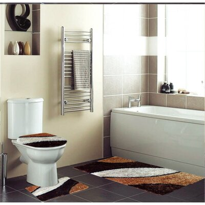 Hollinger 3 Piece Bath Rug Set
