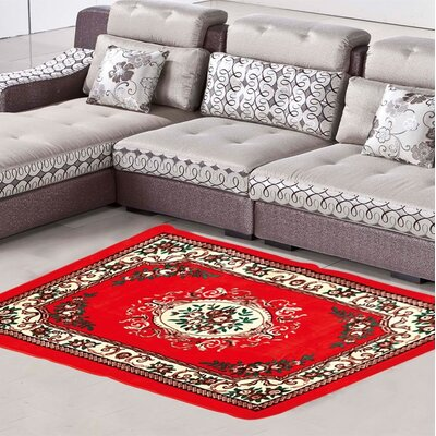 Culligan Red Area Rug