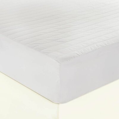 200 Thread Count Cotton Mattress Pad Size: Full