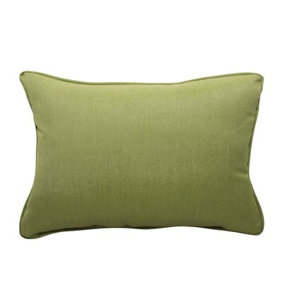 Spectrum Cilantro Outdoor Sunbrella Lumbar Pillow