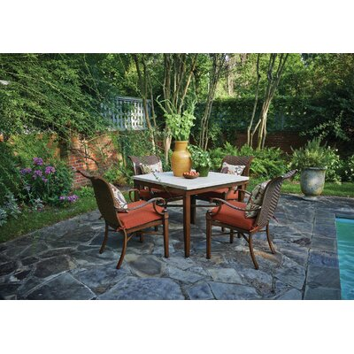 Panama 6 Piece Dining Set with Cushions