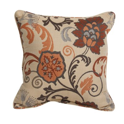 Elegance Marble Outdoor Sunbrella Throw Pillow