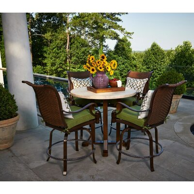Panama 6 Piece Counter Height Dining Set with Cushions