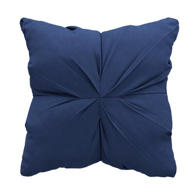 Tufted Throw Pillow Color: Canvas Indigo