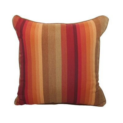Astoria Indoor/Outdoor Throw Pillow Color: Sunset