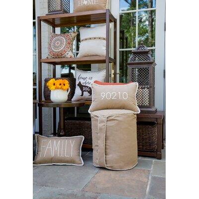 Bean Bag Chair Upholstery: Canvas Heather Beige