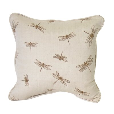 Sweet Dragonfly Throw Pillow