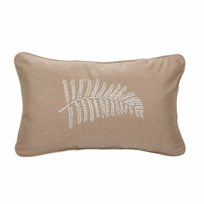Neutral Fern Indoor/Outdoor Lumbar Pillow