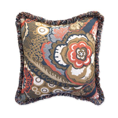 Leandra Throw Pillow with Fringe