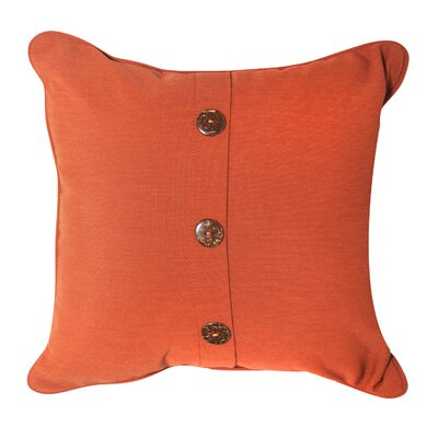 3 Button Vertical Throw Pillow