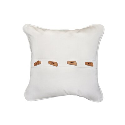 Toggle Button Throw Pillow